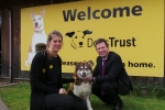 Jeremy Wright at Dogs Trust Kenilworth