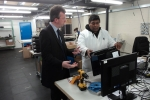 Jeremy Wright MP vists RepairTech, Southam